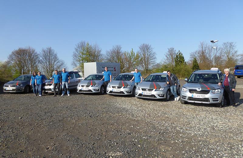 Fahrschule Graf Autos Teamfoto